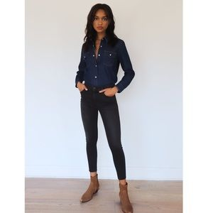 Denim Forum - The Nico Mid Rise Skinny 26L